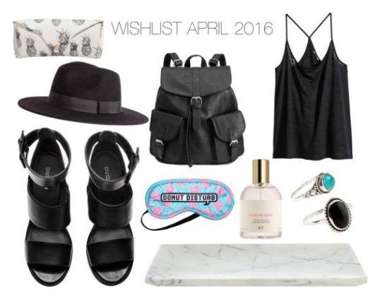 wishlist april 2016